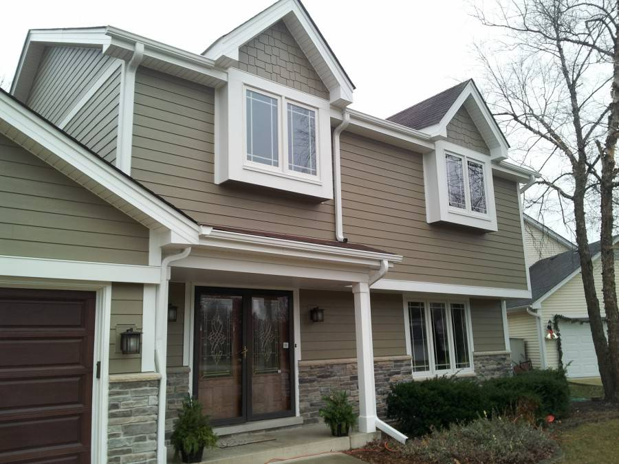Andersen Windows A Series Amp 100 Series Woodstock Brown Hardie Cedarmill Amp Hardieshake Siding