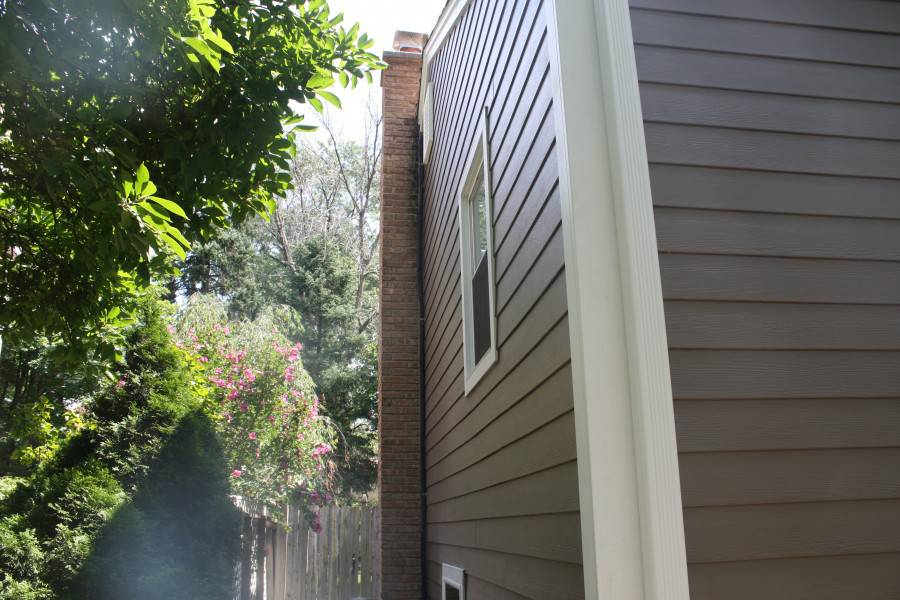James Hardie Plank Timber Bark Amp Monterey Taupe With