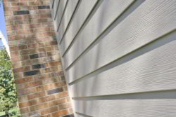 HardiePlank: Monterey Taupe Siding installed in St. Charles