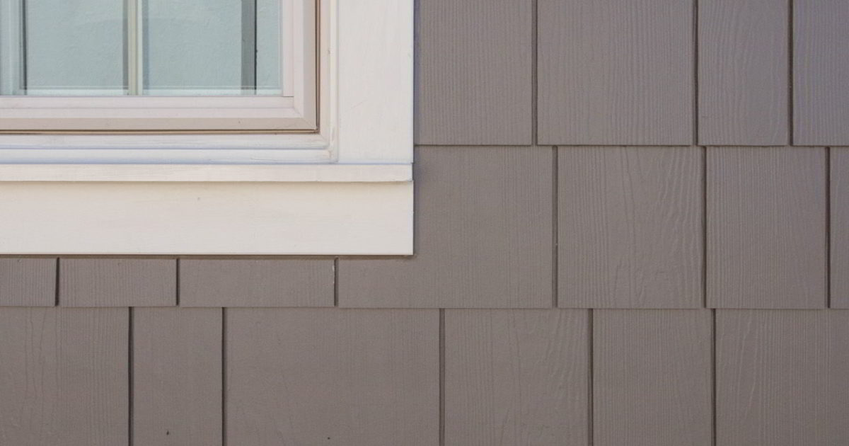 After photo of Naperville siding installation with HardieShingle shake in Timber Bark
